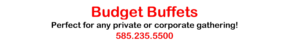 Budget Buffets Catering