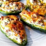 Cheesy Stuffed Jalepeno Peppers
