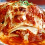 Homemade Meat Lasagna Like Grandma Makes